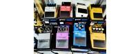 Pastillas, pedales y multiefectos guitarras bajos
